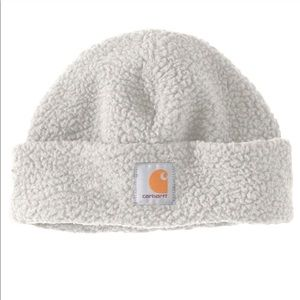 Carhartt Sherpa Beanie+Warm Fleece+Winter White